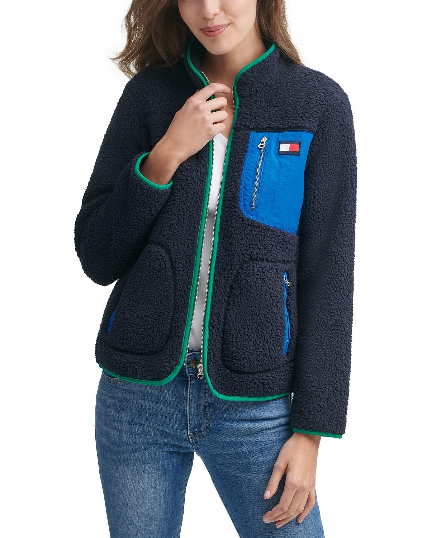 Tommy Hilfiger Sherpa Zip Jacket